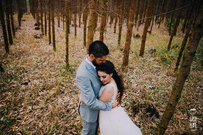 Mini wedding de Jéssica & Daniel: casamento rústico totalmente DIY!