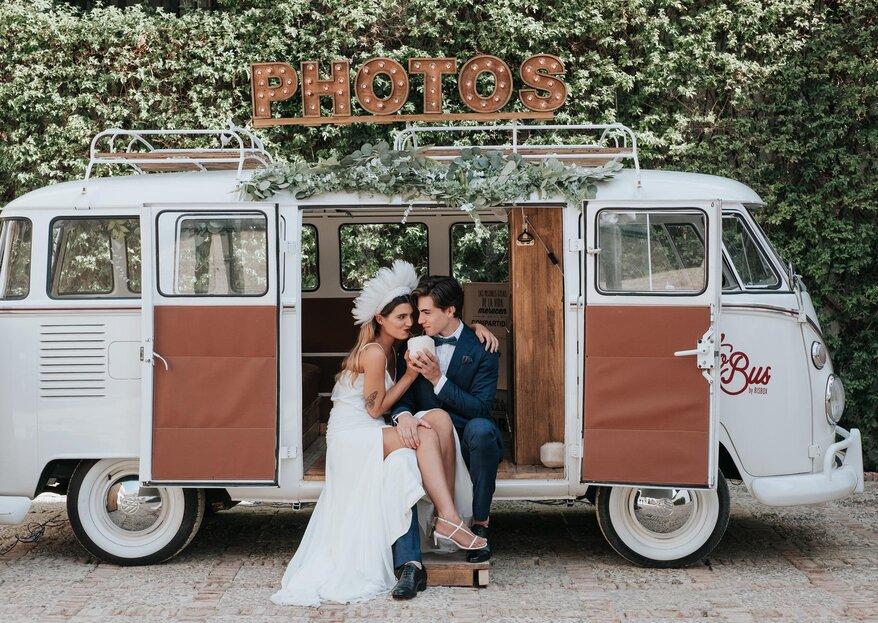 Risbox es el servicio de fotomatón que necesitas para animar tu boda de forma espectacular