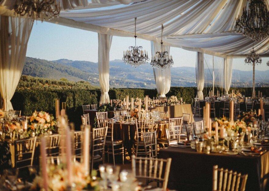 VB Events: i consigli fondamentali per decorare con stile le tue nozze