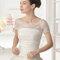 Свадебное платье с бантиком на талии Rosa Clará