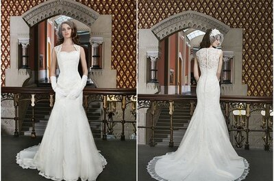 El vestido de la semana: un diseño para novias retro de Justin Alexander 2014