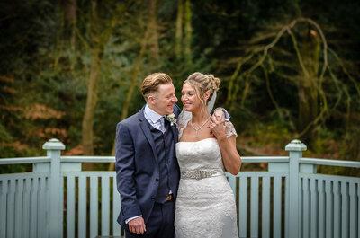 Real Wedding: Liz and Gary's Wonderful Winter Wedding
