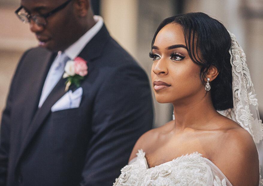Maquilhagem para noivas negras: as dicas para uma makeup adequada ao seu tom de pele!