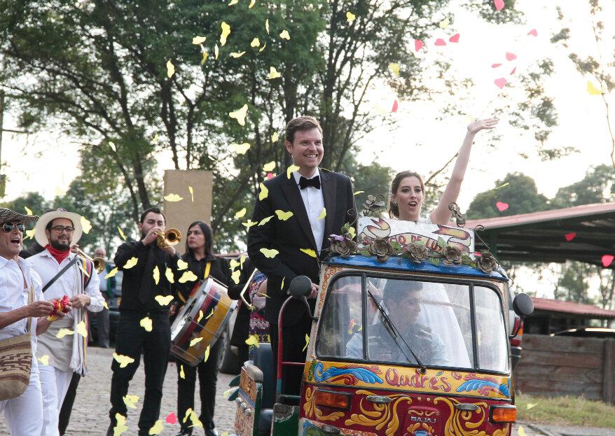 Así es una boda en Casa Andrés: la casa que casa y otros festines