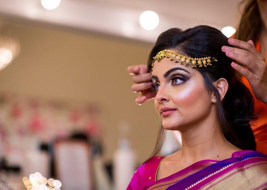 From Chicago to Mumbai: Romit and Gayatri's Royal Marathi Wedding