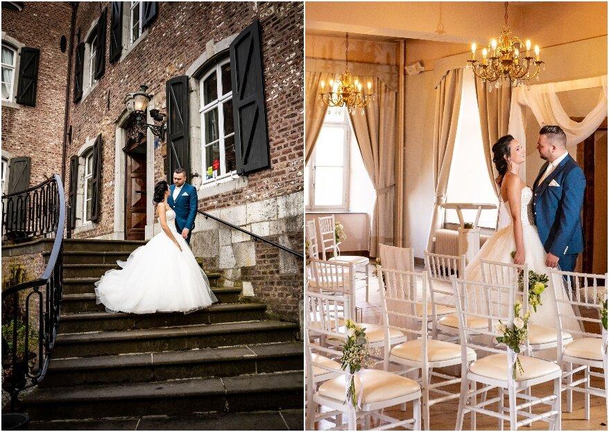 Een romantisch en sprookjesachtig huwelijk bij Kasteel Erenstein!