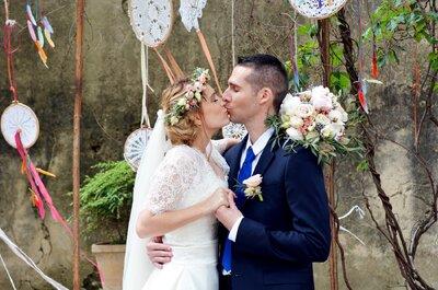 Hélène + Yoann: un mariage sur le thème des fleurs dans un superbe château montpelliérain