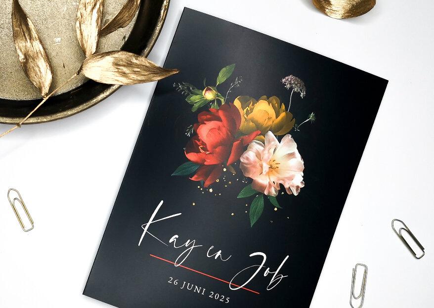 De nieuwste trends in trouwkaarten volgens Koningkaart!