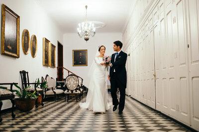 Un día más que especial: la boda de Elo y Pedro