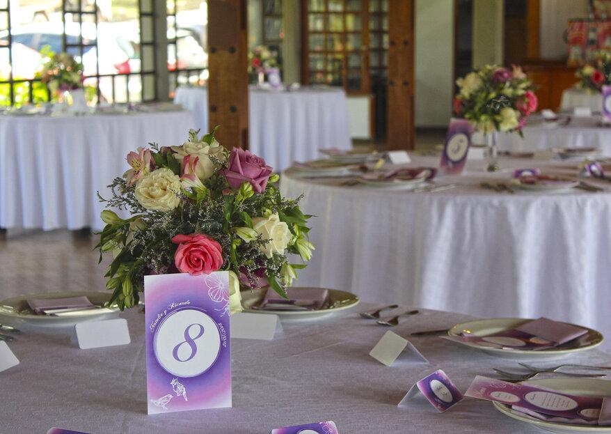 Tu historia de amor es la inspiración: ¡decora tu boda con Sandra González!