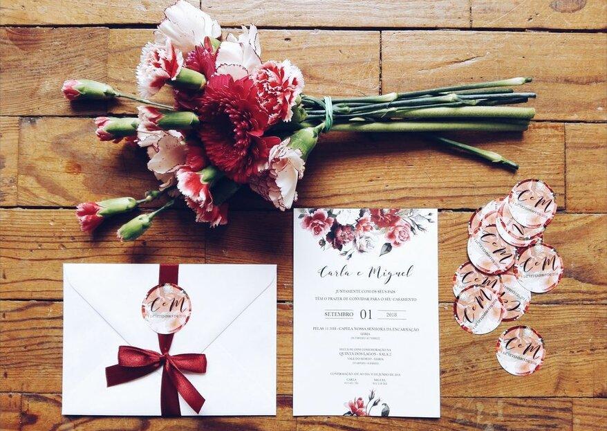 10 dicas para redigir um convite de casamento na perfeição