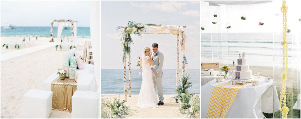60 imperdibles en decoración de matrimonios en la playa. ¡Te encantarán estas propuestas!