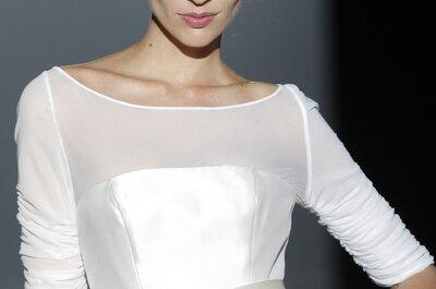 Detalles vintage y romanticismo: Vestidos de novia primavera 2015 de Franc Sarabia