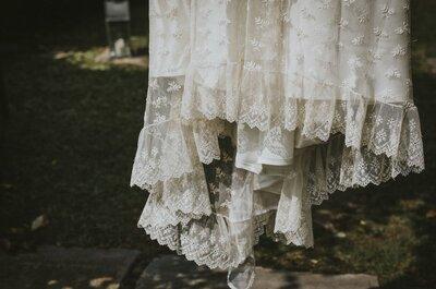 Los 8 blancos de los vestidos de novia: ¿sabes diferenciarlos?