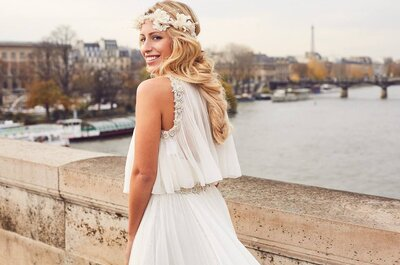 Hair wedding bandeau per la sposa del 2017