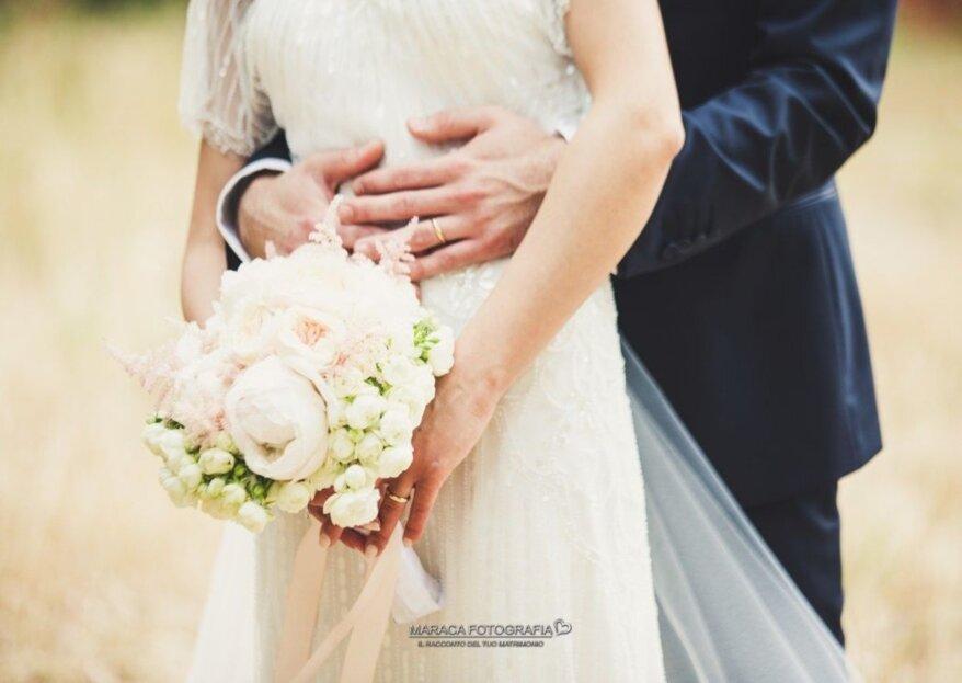 Maraca fotografia: le sensazioni che proverete al matrimonio in degli scatti fotografici