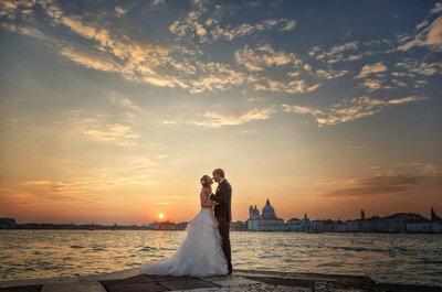 Entspannte & stilvolle Hochzeitsfotos aus Venedig: So schön kann ein After Wedding Shooting sein!