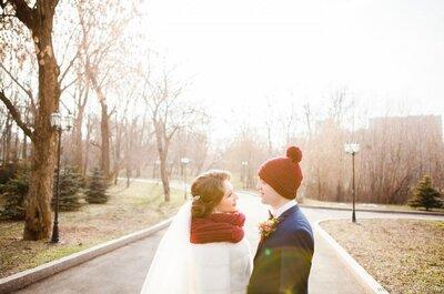 ¿Cómo lucir un look perfecto de novia en invierno? Sigue los consejos de los expertos