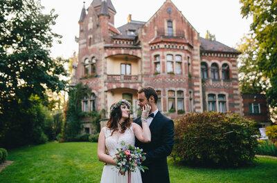 Klimat rustykalny panuje w całym królestwie ślubnym, a oto jego sprawcy: piękna Para Młoda!