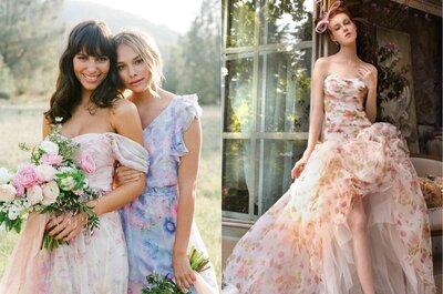Vestidos de noiva com aquarela 2016: aposte por essa tendência!