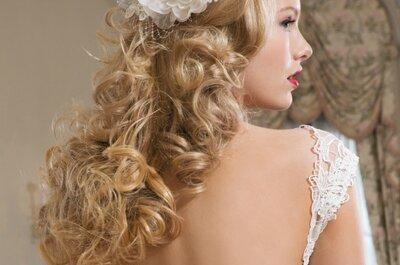 Peinados informales que marcan tendencia en las novias modernas