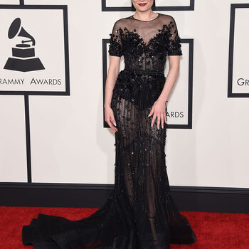 Glamorous looks at the 2015 Grammy Awards