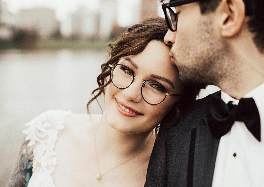8 problemas que só as mulheres que usam óculos vão perceber. Previna-se no dia do seu casamento!