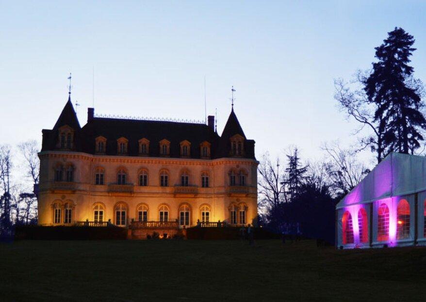 Succombez au charme du Château de Néty, un lieu de réception unique dans la région lyonnaise