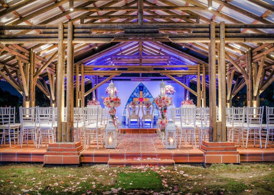 Para una boda inolvidable, un lugar privilegiado: ¡sorpréndete con Brizantha Hotel Campestre!