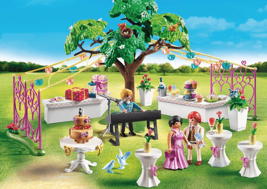 Habilite-se a ganhar mini casamentos da Playmobil: saiba como aqui!