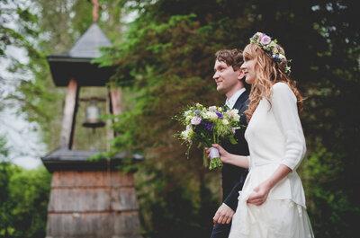 Bieszczadzkie wesele z szaloną pogodą ! Cudowny reportaż ślubny.