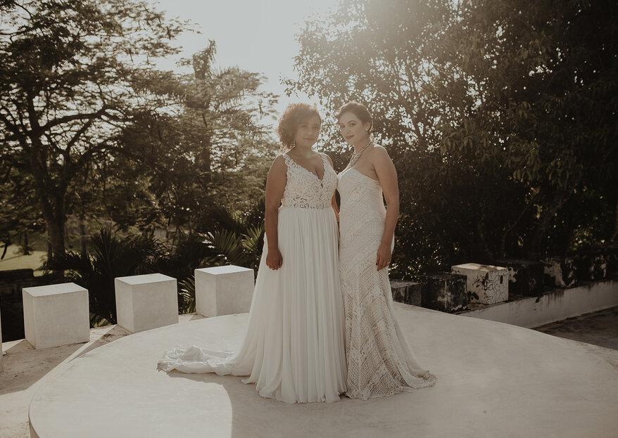 Nuestro amor no conoce límites: La boda de Ronna & Ali