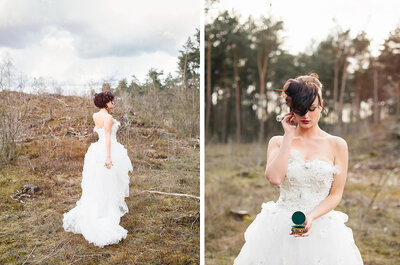 Ruig & Zoet: Met de bruiloft shoot in Steampunk stijl!