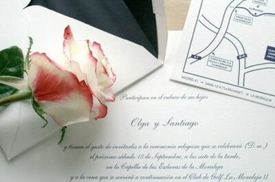 Encuentra la invitación de boda perfecta en Madrid