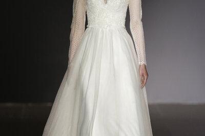 Edle Brautkleider mit Ärmeln 2016: So sieht der perfekte Brautlook für den Herbst aus!