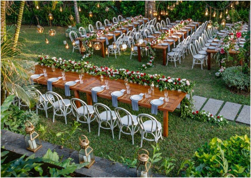 Tafelschikking voor de bruiloft: wie mag er naast het bruidspaar zitten?