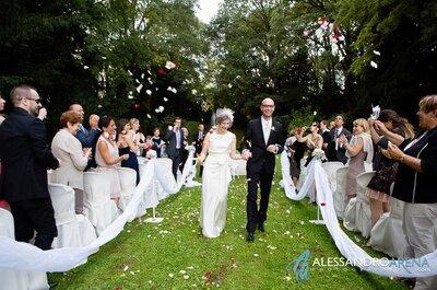 Come organizzare il matrimonio perfetto nel giardino di casa
