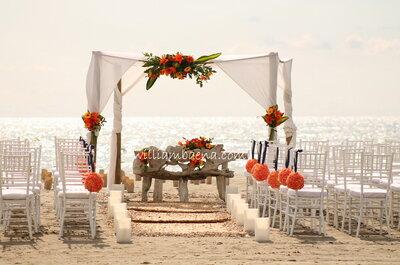 Florarte: especialistas en bodas en Cartagena de Indias