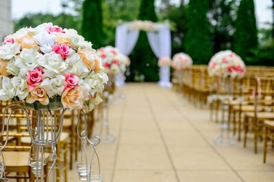 Las 6 mejores recomendaciones para una boda al aire libre: ¡Entérate!