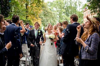 De bruiloft van Arnoud en Caroline!