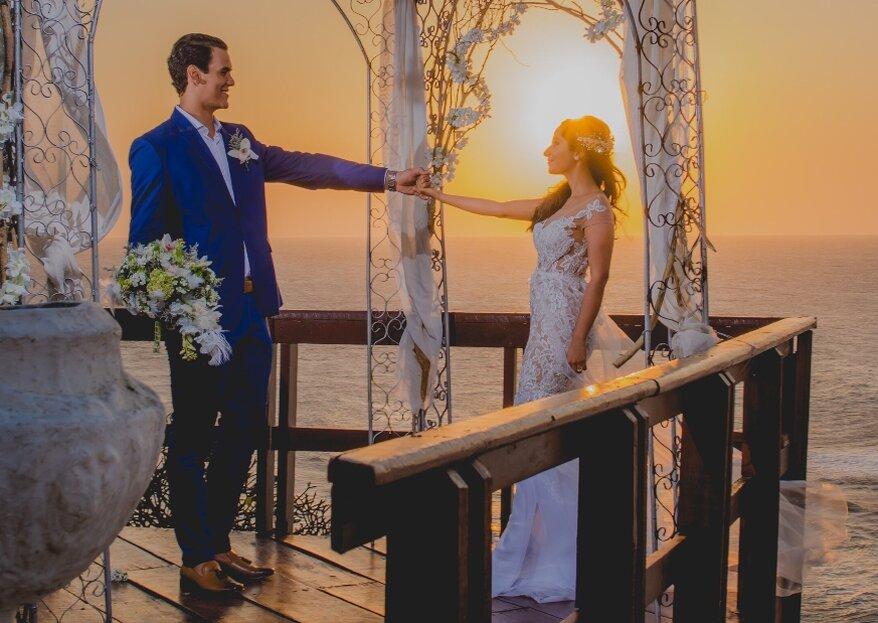 La vista al mar para tu boda destino en Barranquilla, de Casa de Eventos Altos de Pradomar