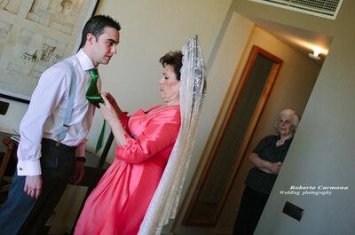 ¿De dónde viene la tradición de usar mantilla en las bodas?