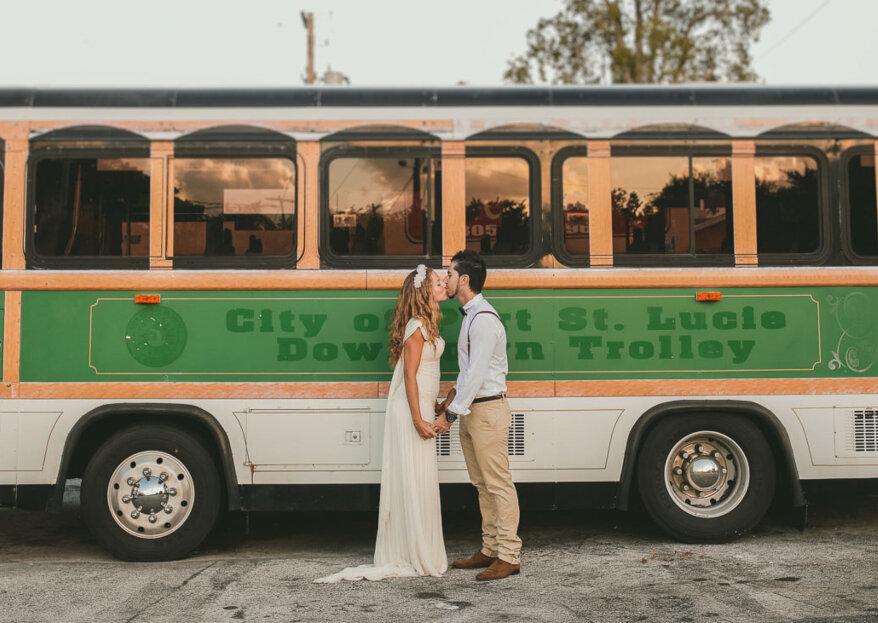 ¿Cómo elegir el transporte para los invitados de mi matrimonio? ¡Opta por estilo y seguridad!