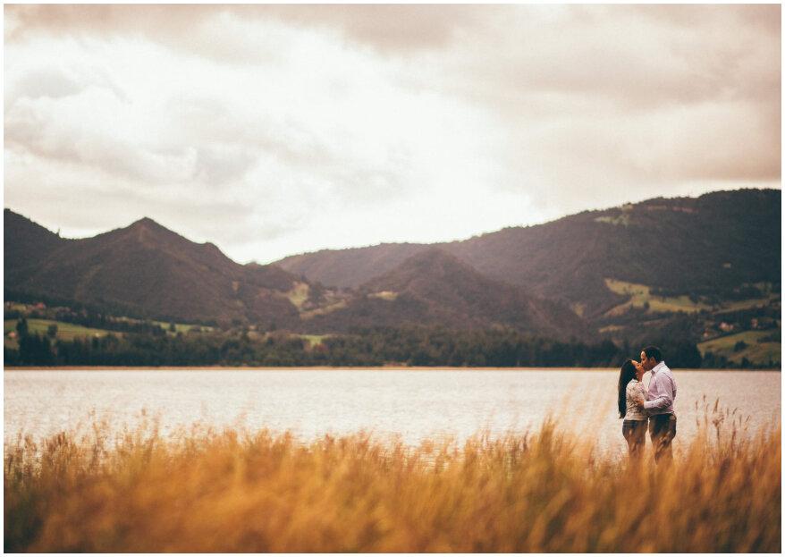 Las 9 mejores locaciones naturales en Cundinamarca para tu sesión preboda o propuesta de matrimonio