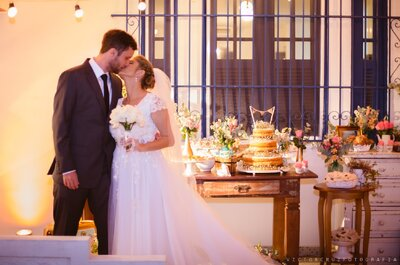 Casamento no sítio de Beatriz & Eduardo: SUPER romântico e com vários toques DIY!