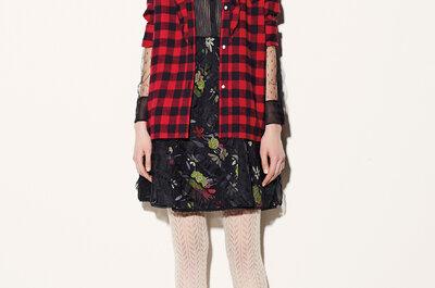 Red Valentino otoño-invierno 2015/16: Una colección súper cool inspirada en el grunge de los 80