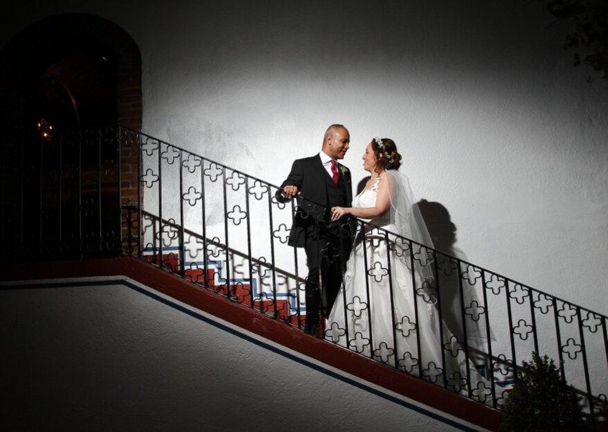 Una boda mexicana elegante: el gran día de Roxana y Priyanshu