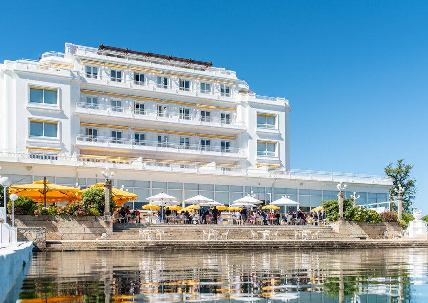 Vuélvete a enamorar en tu boda en una isla de la mano de Eurostars Gran Hotel La Toja