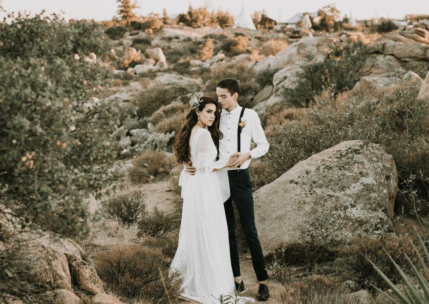 Una boda inspirada en el desierto: la naturaleza ¡a tus pies!