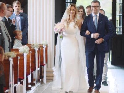 Kasia i Filip zachwycają Was na wideo ślubnym! Nie przegap!